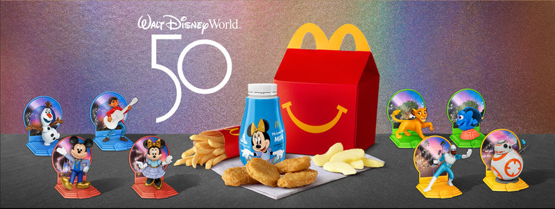 50th Anniversary Happy Meal Toys