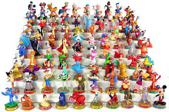 Official photo of 100 Years of Magic Disney characters toys from ...