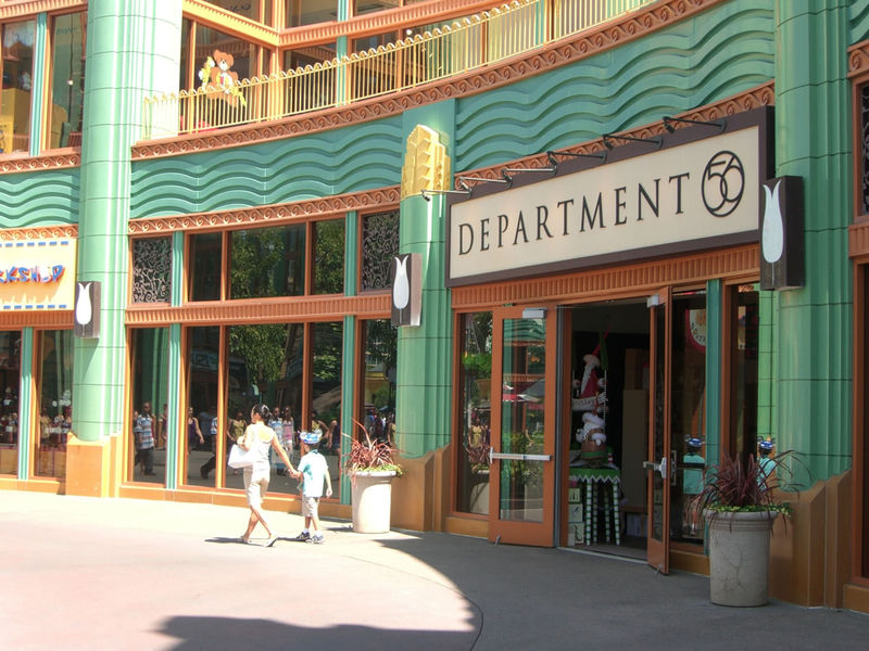 Department 56 at Disneyland Resort's Downtown Disney. Photo (c) Disney