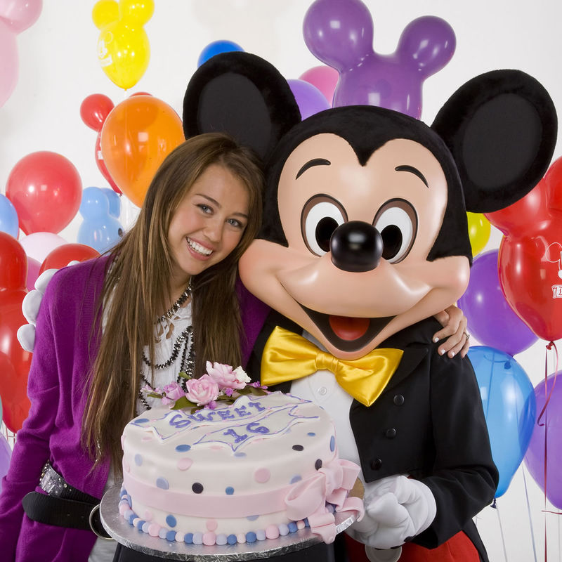 Miley Cyrus Birthday at Walt Disney/MileyCyrus-16th-Disney.jpg