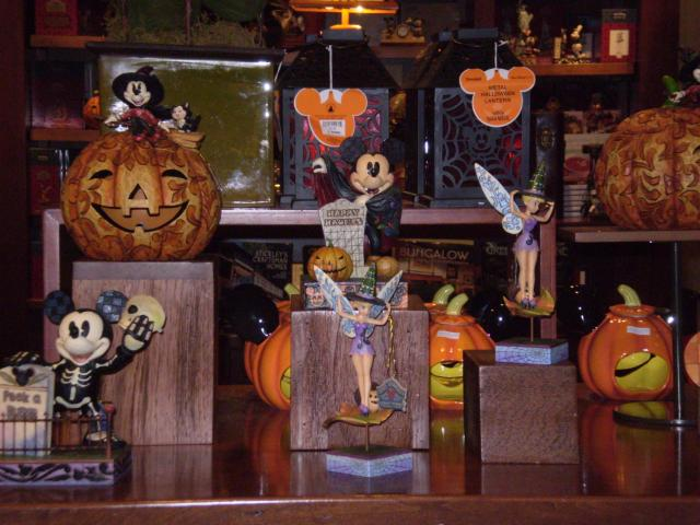 Halloween merchandise abounds. Photo by Shoshana Lewin.