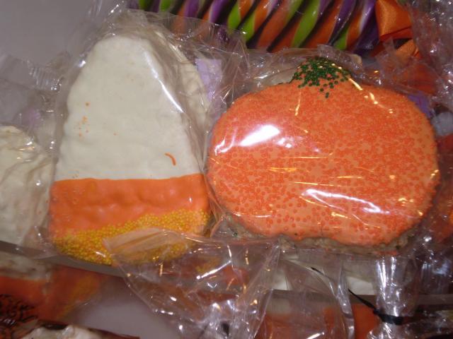 Frosted Rice Krispie treats. Photo by Shoshana Lewin.