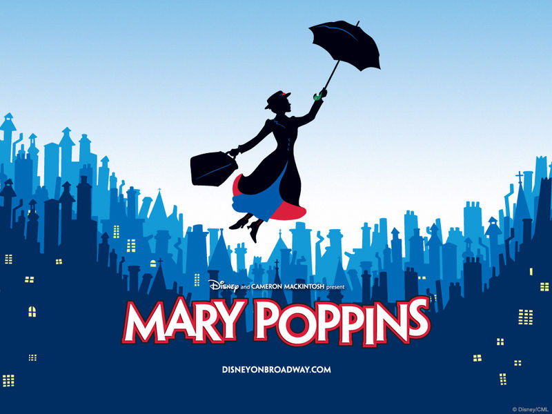 Mary Poppins on Broadway. Publicity image (c) Disney