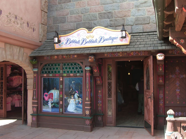 Bibbidi Bobbidi Boutique opened this weekend and proved immediately popular.