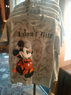 Mickey vampire t-shirt. Photo by Cindy Stephens.