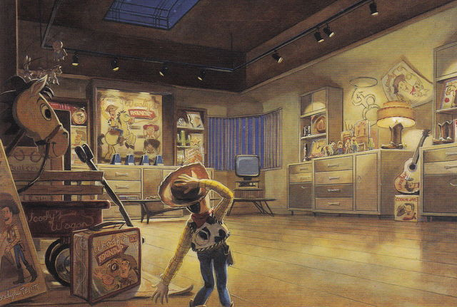 Toy Story Original Concept Art Toy Story 2 Concept Art by
