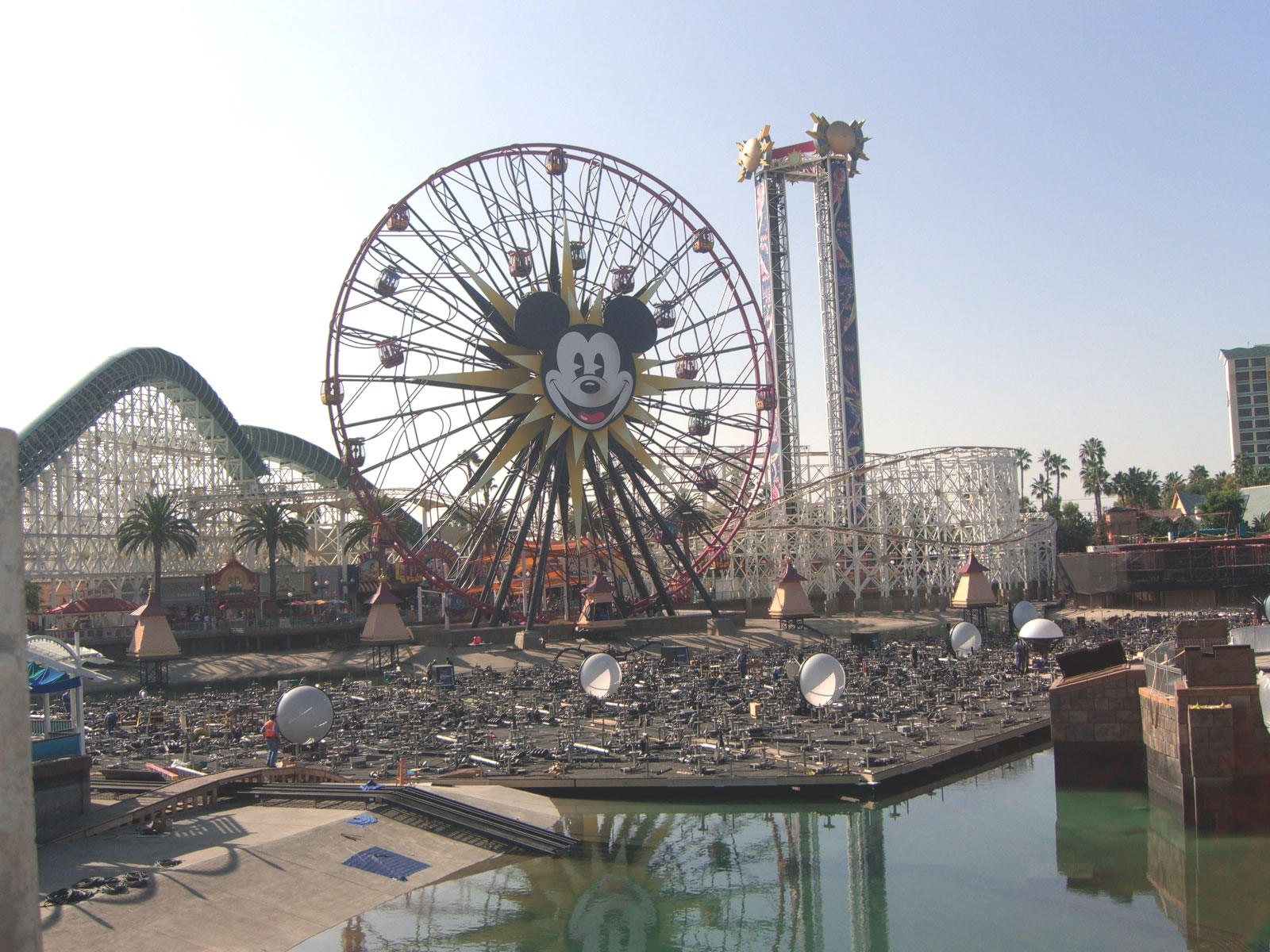 It seems that new equipment is added to the World of Color show platform every week. Photo by Adrienne Vincent-Phoenix.