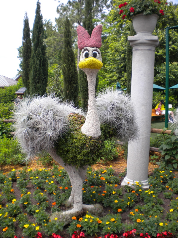 Mouseplanet My Disney Top 5 Topiaries At Epcots Flower And
